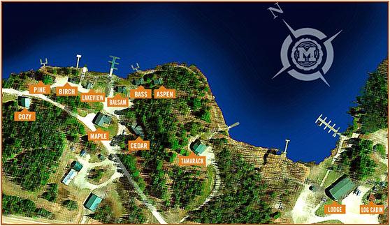 Melgeorges Elephant Lake Lodge Map